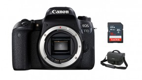 정품 EOS 77D BODY + BAG 3070 + 16G