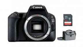 정품 EOS 200D Body (Black) + BAG 1973 + 16G