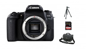 정품 EOS 77D BODY + BAG 3070 + 32G + 삼각대
