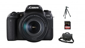 정품 EOS 77D 18-135 IS USM + BAG 3070 + 32G + 삼각대
