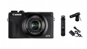 [캐논으로 브이로그4] 정품 G7 X Mark III(Black) + HG-100TBR + DM-E100 +  PD-E1