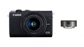 정품 EOS M200 (Black) 15-45 + 22 KIT
