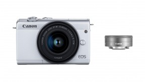 정품 EOS M200 (White) 15-45 + 22 KIT