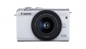 정품 EOS M200 (White) 15-45 KIT